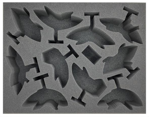 Adeptus Mechanicus 10 Pteraxii Skystalkers Foam Tray (BFL-3)