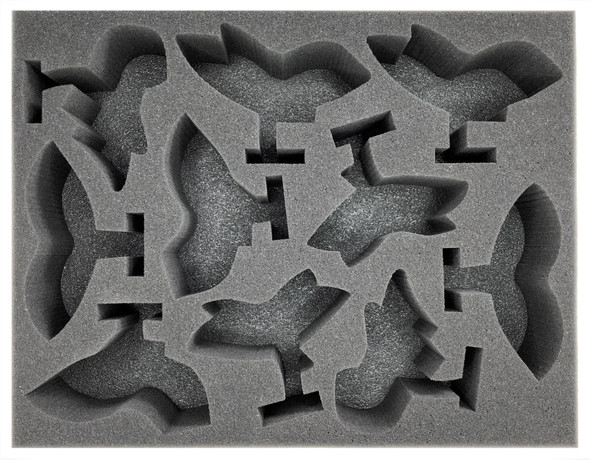 Adeptus Mechanicus 10 Pteraxii Sterylizors Foam Tray (BFL-3)