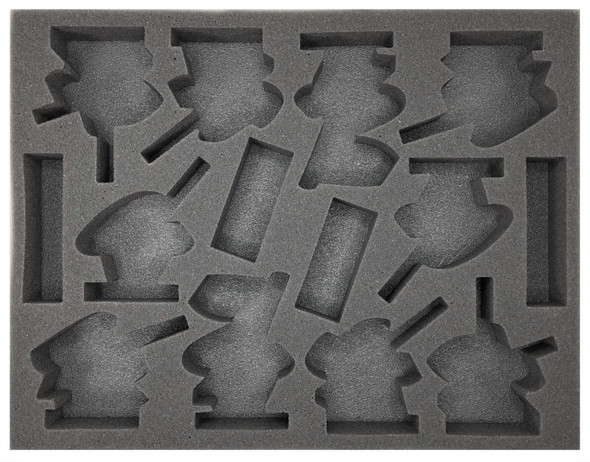 Age of Sigmar Lumineth Realm-Lords 10 Vanari Dawnriders Foam Tray (BFL-1.5)
