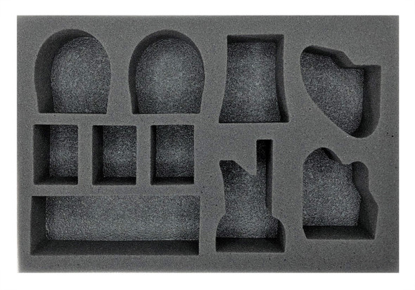 Warhammer 40K Battlezone Objective Set Foam Tray (BFS-2)