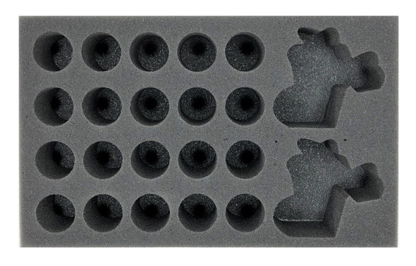 Crud Creek Nosepickers Snotling Blood Bowl Team Foam Tray (FF-2)
