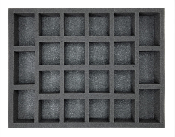 Age of Sigmar Lumineth Realm-Lords 20 Alarith Stoneguard Foam Tray (BFL-1.5)