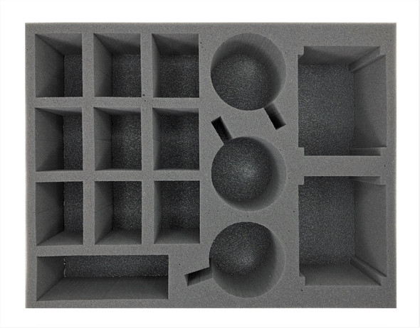 (Space Marine) 3 Primaris Firestrike Servo-Turret 9 Devastator 2 Hunter/Stalker Foam Tray (BFL-3.5)