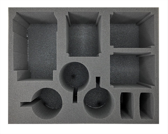 (Space Marine) 1 Primaris Repulsor 3 Firestrike Servo-Turret 3 Hunter/Stalker Foam Tray (BFL)
