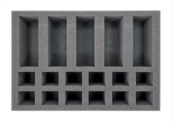 (Necromunda) Van Saar with Archeoteks and Grav-Cutters Foam Tray (BFS-2.5)
