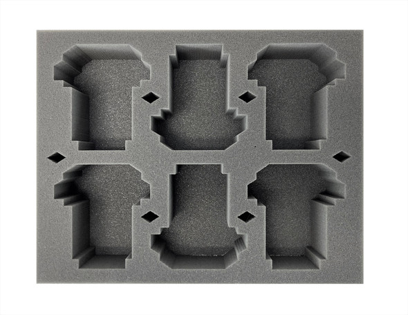 (Space Marine) 6 Storm Speeder Foam Tray (BFL-3)