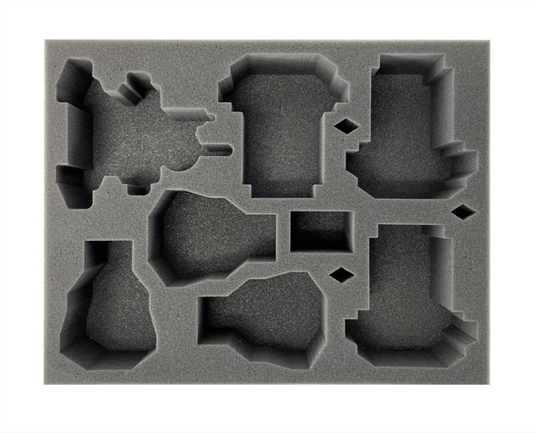 (Space Marine) 3 Storm Speeder 3 Land Speeder 1 Vengeance/Ravenwing Darkshroud Foam Tray (BFL-3)
