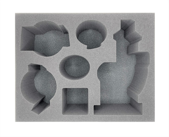 Age of Sigmar Lumineth Realm-Lords Shrine Luminor and Characters Foam Tray (BFL-5.5)