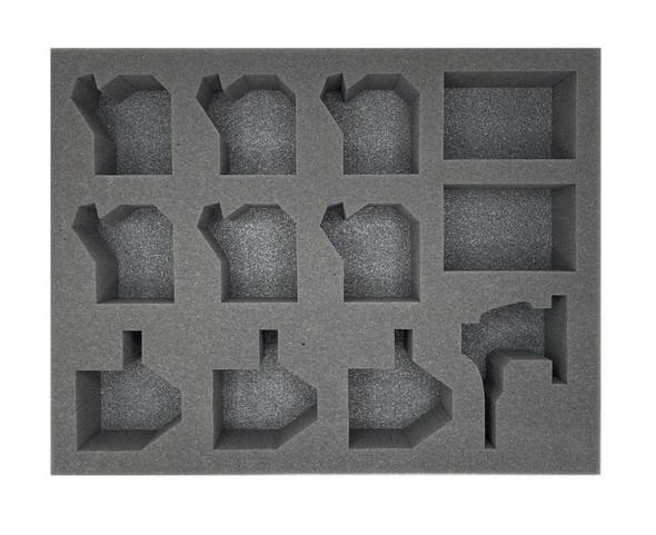 Adepta Sororitas Paragon Warsuits Foam Tray (BFL-2.5)