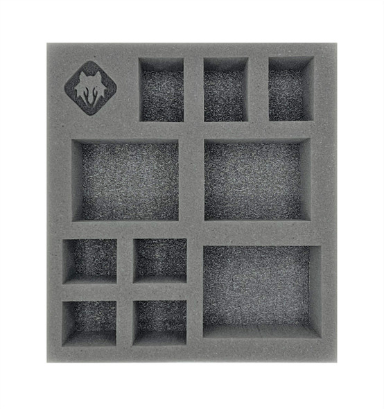 (Warcaster) Marcher Worlds Command Group Half Foam Tray (PP.5-2.5)