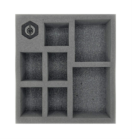 (Warcaster) Empyreans Command Group Half Foam Tray (PP.5-3)