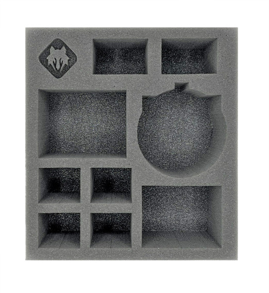 (Warcaster) Marcher Worlds Command Group with Razorbat Half Foam Tray (PP.5-3.5)