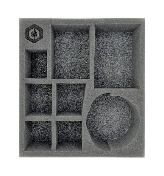 (Warcaster) Empyreans Command Group with Zenith Half Foam Tray (PP.5-3.5)