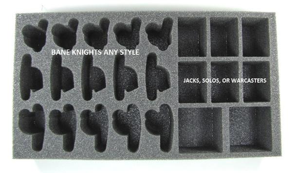 (Cyrx) Cryx Bane Knights Troop Foam Tray (PP-2.5)