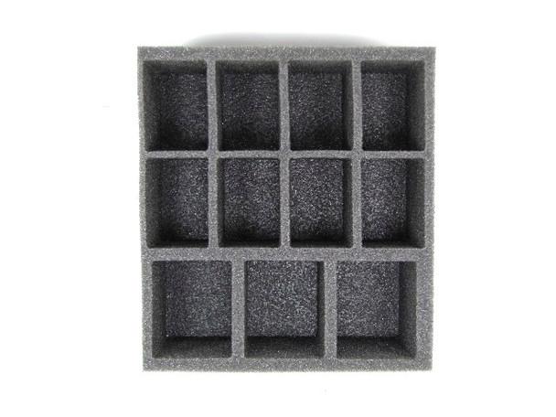 (W/H) Warmachine/Hordes Medium Troop Half Foam Tray (PP.5-2)