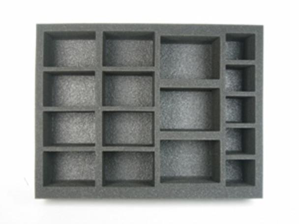(W/H) 8 Large Warjack 3 Extra Large Warjack Foam Tray (P05BFL-3.5)
