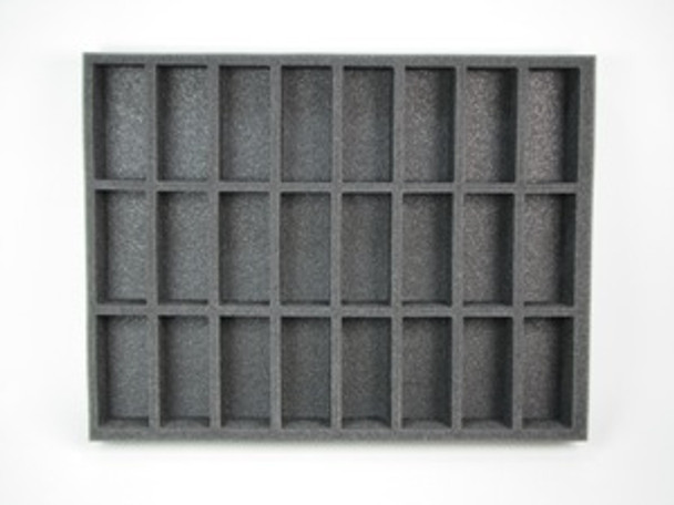 (High Elves) 24 Command/Banner Foam Tray (0034BFL-1.5)