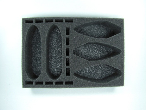 Covenant of Antarctica Carrier and Battleship Foam Tray (BFS-2.25)