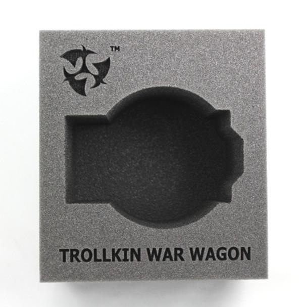 (Trollbloods) Trollkin War Wagon Battle Engine Foam Tray (PP.5-4.5)