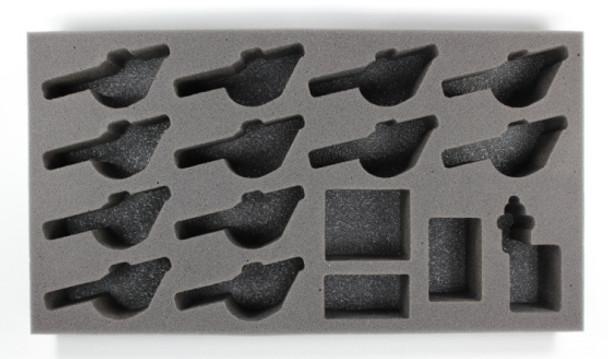 (Khador) 12 Ironfang Pikemen Foam Tray (PP-2)