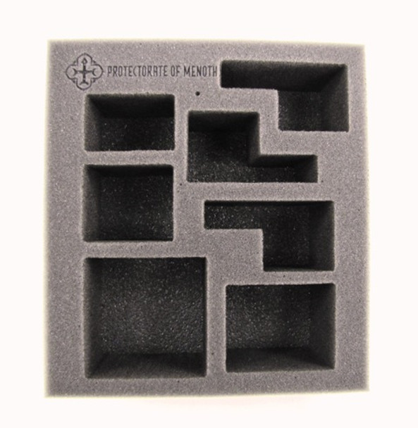 Protectorate of Menoth Starter Demo Half Foam Tray (PP.5-2.5)