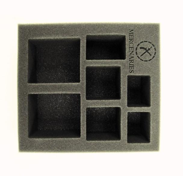 Mercenaries Starter Demo Half Foam Tray (PP.5-2.5)