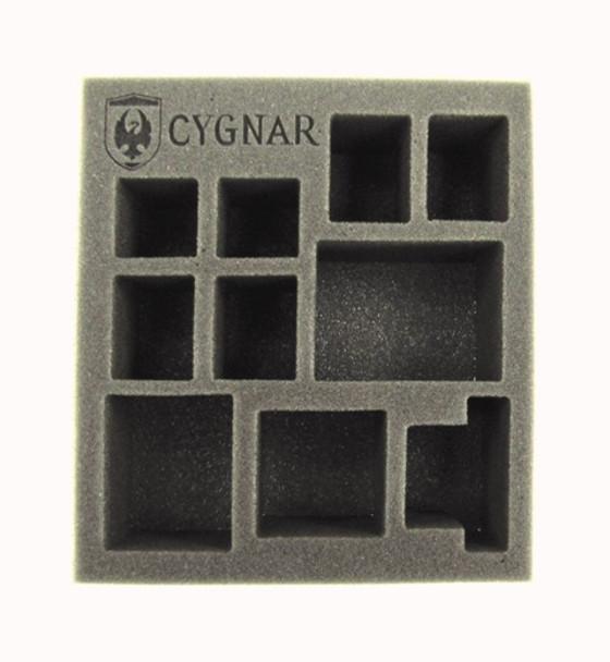Cygnar Starter Demo Half Foam Tray (PP.5-2.5)