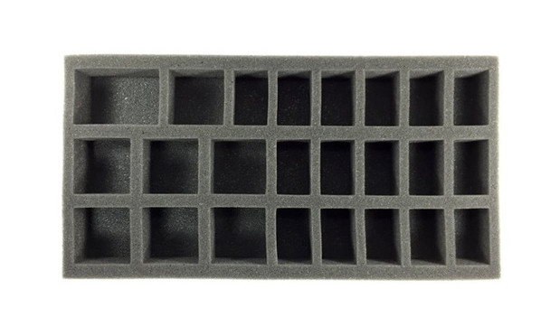 (Gen) 32mm 36 Medium 6 Large Troop Foam Tray (BFM-1.5)