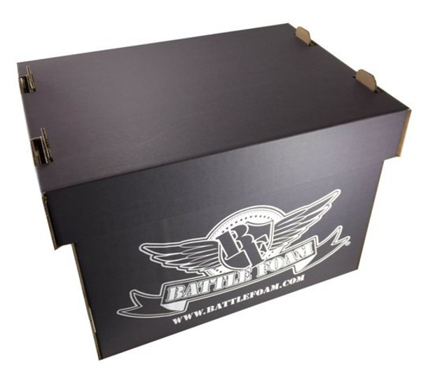 Battle Foam Medium Stacker Box with Privateer Press Load Out (Black)