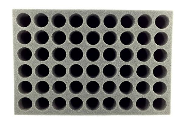 (Hobby) 54 Dropper Bottle Paint Foam Tray (BFS-2.5)