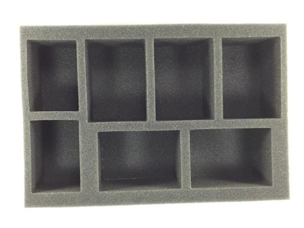 (W/H) 5 Large Warjack 2 Medium Warjack Foam Tray (BFS-2.5)