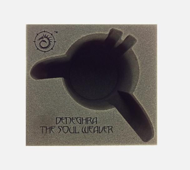 (Cryx) Deneghra, The Soul Weaver Battle Engine Foam Tray (PP.5-8.5)