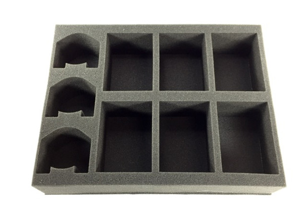 (Space Marines) 6 Rhino 3 Dreadnought Foam Tray (BFL-3)