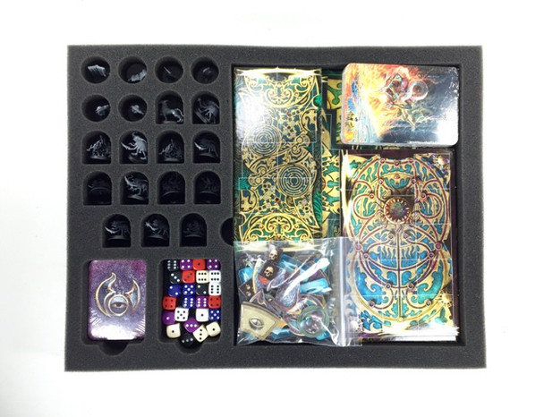 (216) P.A.C.K. 216 Warhammer Quest Silver Tower Load Out (Black)