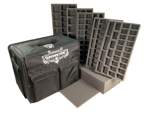 (Warmachine) Privateer Press Warmachine Bag Troop Heavy Army Load Out (Black)