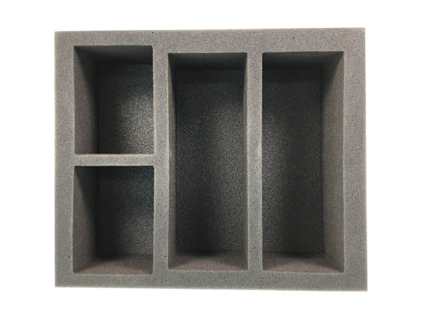 Full Deck Box with Top Loader Foam Tray (BFB-3)