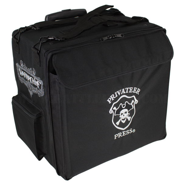 Privateer Press Big Bag with Wheels Custom Half Tray Load Out