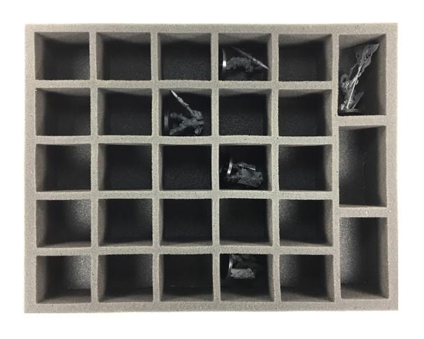 25 Large 3 X-Large Troop Foam Tray (BFL)