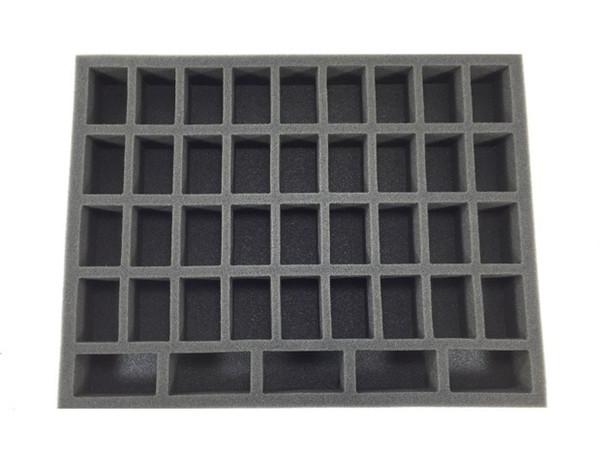 36 Medium 5 Tall Troop  Foam Tray (BFL-1.5)