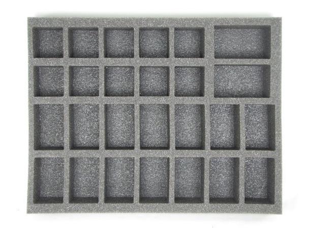 14 Large 10 Medium 2 X-Large Troop Foam Tray (BFL)