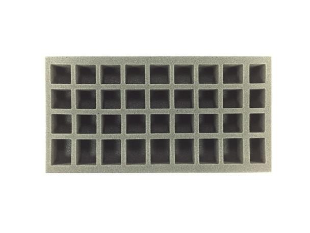 24 Small 8 Medium 4 X-Small Standing Model Foam Tray (BFM)