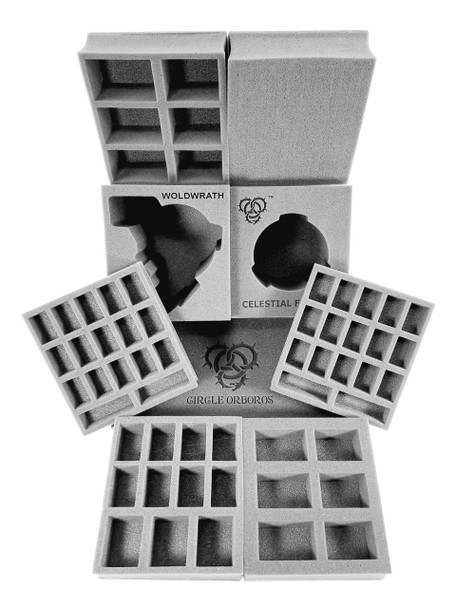 (Hordes) Circle Orboros Half Tray Kit for the Hordes Bag (PP.5)