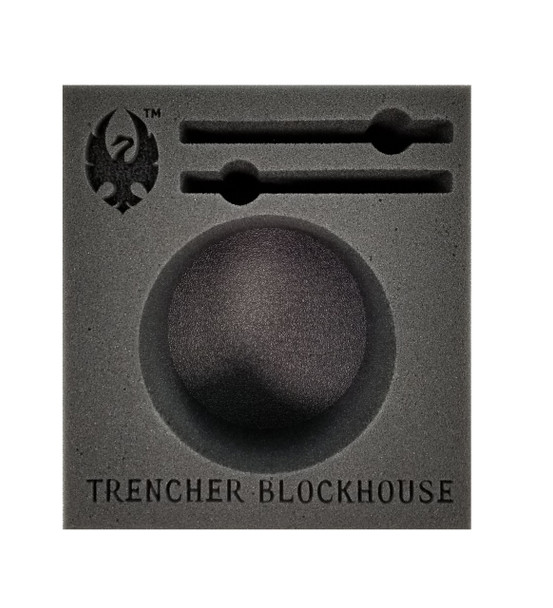 (Cygnar) Trencher Blockhouse Battle Engine Foam Tray (PP.5-3.5)