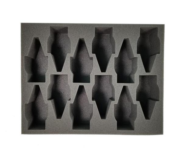 (Tau) 12 Broadside Foam Tray (BFL-3)