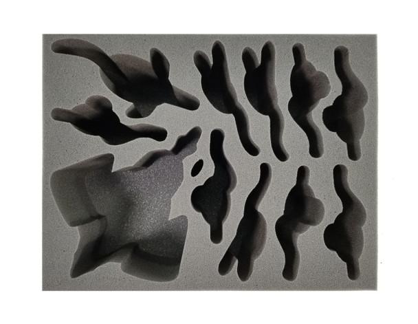 Age of Sigmar Idoneth Deepkin Universal Foam Tray 1 (BFL-5.5)