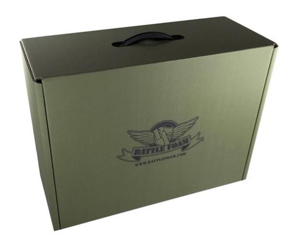 (Clearance) Battle Foam Eco Box Empty (Green)