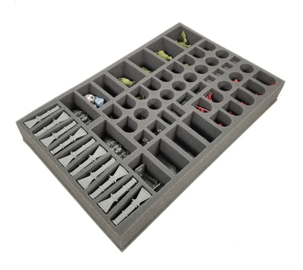 Rogue Trader Foam Tray for Game Box