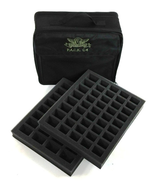 (C4) P.A.C.K. C4 Bag 2.0 with 2x Troop Foam Trays