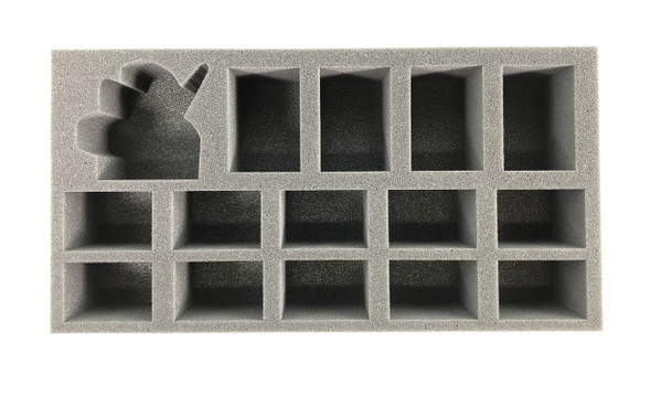 (Chaos Space Marine) Abaddon the Despoiler Foam Tray (BFM-2.5)