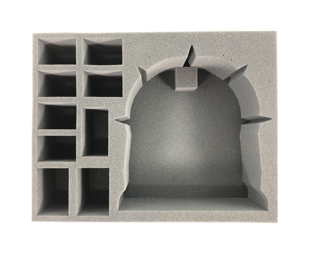 (Chaos Space Marine) Noctilith Crown Foam Tray (BFL-4)